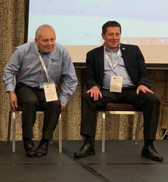 Bob Corr and John Spillane