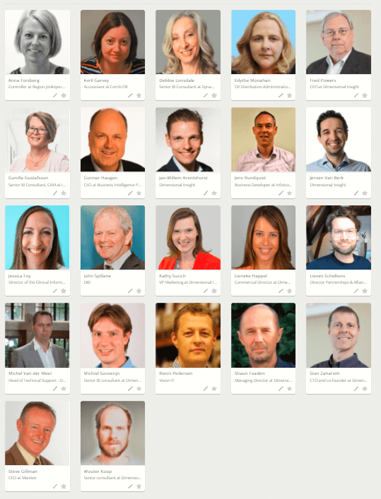 Speakers at the Diver Conference
