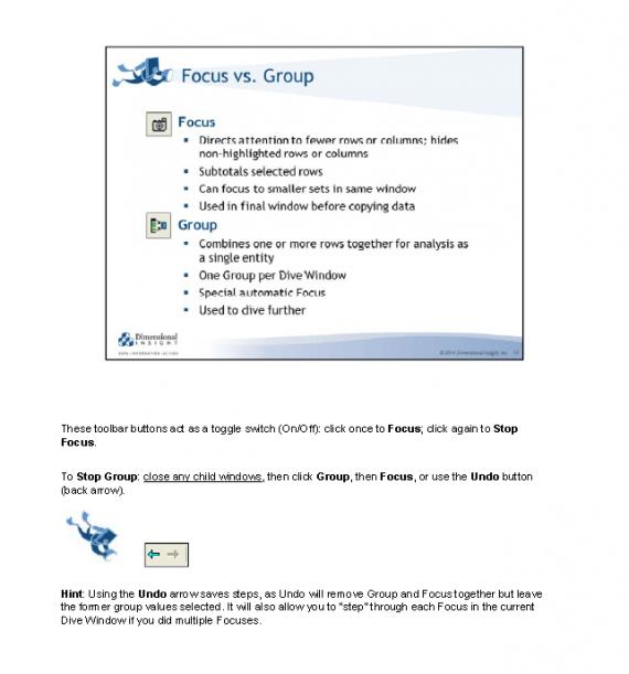 Focus v Group