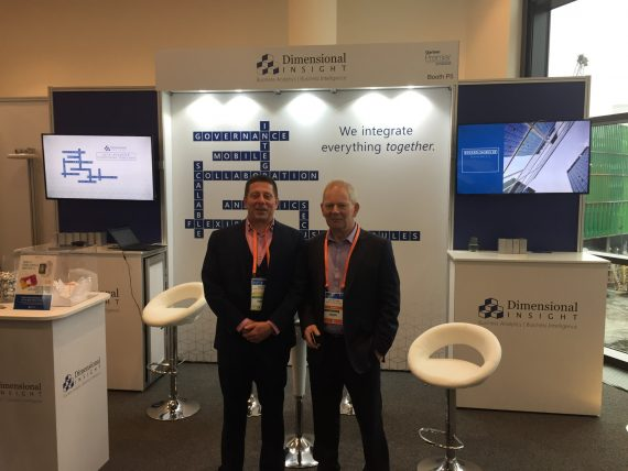 Bob Corr and John Spillane at Gartner Summit
