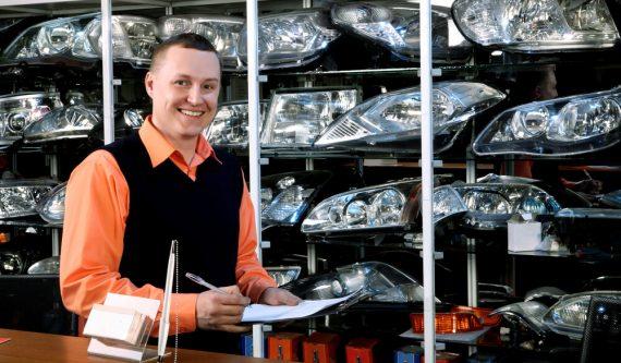 Autoparts dealer