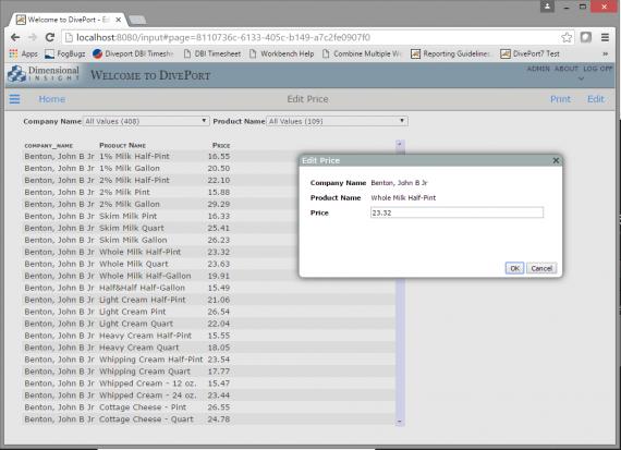 Image of Diveport | iN screen